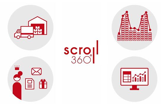株式会社スクロール360ロゴ