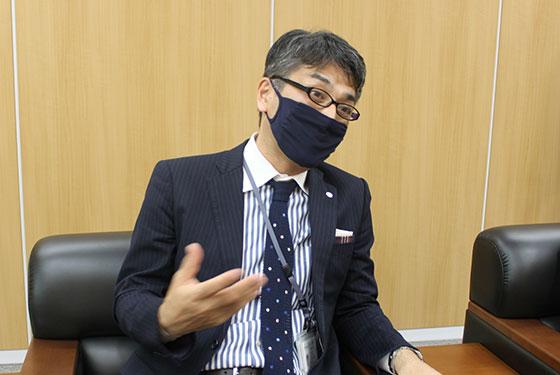 執行役員の早川さま