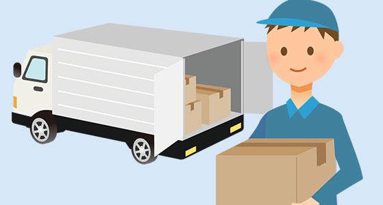 情報3:配送サイズの比率・利用中の配送会社