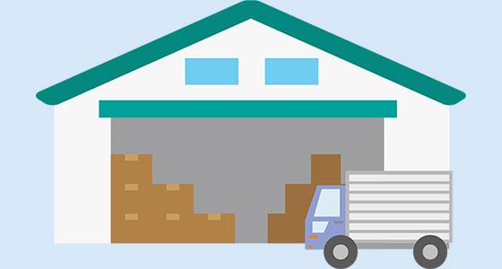 情報4:品番数・SKU数・在庫数・現倉庫の利用坪数