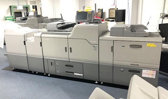 バリアブル印刷が可能なオンデマンドプリンター