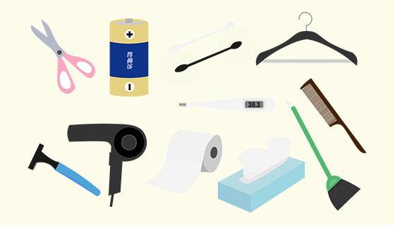 物流商材:日用品、雑貨