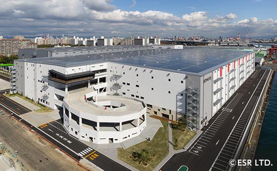 大阪倉庫:SLC関西(スクロールロジスティクスセンター関西)
