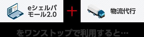 eシェルパモール2.0  + 物流代行をワンストップで利用すると
