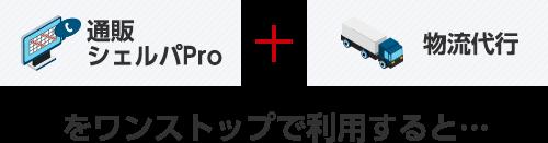 通販シェルパPro + 物流代行をワンストップで利用すると