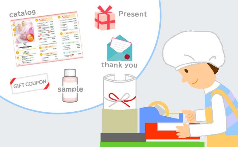 同梱物で通販(D2C)リピートアップ物流委託・発送代行で成功するための秘訣